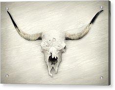 Longhorn Decor Acrylic Print