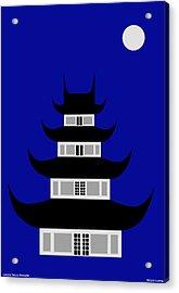 Longhua Acrylic Print by Asbjorn Lonvig