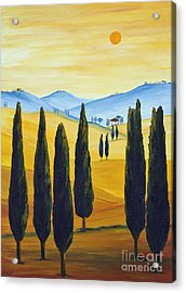 Longing For Tuscany Acrylic Print