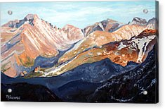 Longs Peak From Trail Ridge Road Acrylic Print