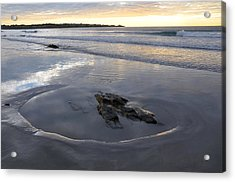 Longsands Rock 2 Acrylic Print by Catherine Easton