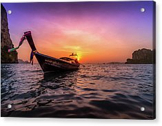 Longtail Sunset Acrylic Print