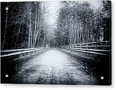 Acrylic Print featuring the photograph Lonliness Highway by Spencer McDonald