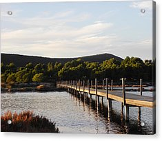 Acrylic Print featuring the photograph Lonlyness, Sulcis by Martina Uras