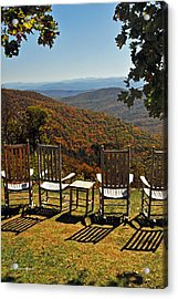 Relax And Enjoy Acrylic Print