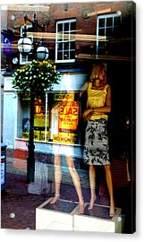 Look Back In Me Acrylic Print by Jez C Self
