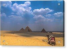 Look Towards The Ancient Wonder Acrylic Print