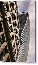 Look Up Acrylic Print by David Warrington