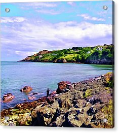 Looking Across Acrylic Print