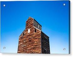 Loring Grain Elevator Acrylic Print
