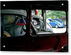 Looking At My Chms Acrylic Print by Jez C Self