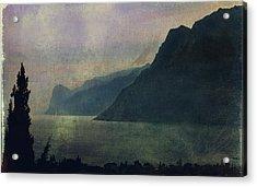 Looking At The Lake... Acrylic Print