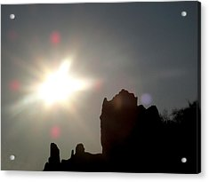 Looking At The Sun  Acrylic Print by Lyle Crump