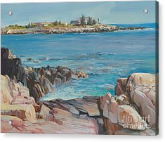 Looking At Walkers Point Estate  Acrylic Print by P Anthony Visco
