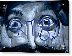 Acrylic Print featuring the painting Looking At You by Yurix Sardinelly