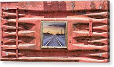 Acrylic Print featuring the photograph Looking Back by James BO Insogna