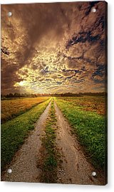 Looking Back On The Memory Of Acrylic Print by Phil Koch