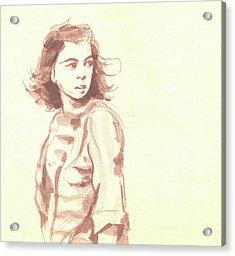Looking Back... Acrylic Print by Sharmila L