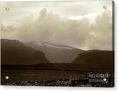 Acrylic Print featuring the photograph Looking Back by Thomas Bomstad