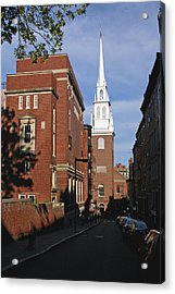 Looking East Towards The Old North Church Acrylic Print
