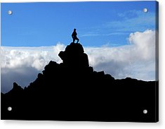 The Summit Hunter Acrylic Print
