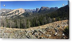 Looking Into The Bridger Wild Lands Acrylic Print
