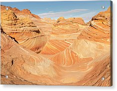 Looking Into The Wave Acrylic Print by Tim Grams
