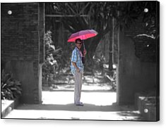 Looking Lost Leandro 4 Acrylic Print by Jez C Self