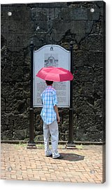 Looking Lost Leandro Acrylic Print by Jez C Self