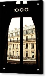 Looking Out Acrylic Print by Cabral Stock