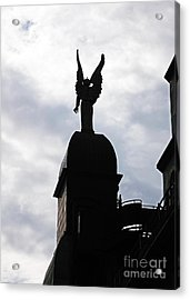 Looking Out In Montreal Acrylic Print by John Rizzuto