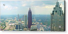 Acrylic Print featuring the photograph Looking Out Over Atlanta by Mike McGlothlen