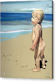 Looking To The Future Acrylic Print by Cyndi Brewer