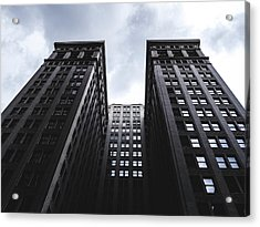 Looking Up At Building In St. Louis Acrylic Print by Dylan Murphy