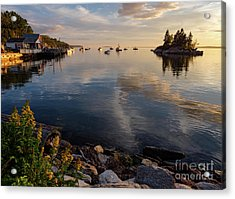 Lookout Point, Harpswell, Maine  -99044-990477 Acrylic Print