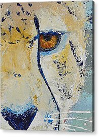 Looks Can Be Deceiving Close-up Acrylic Print by Karen Macek
