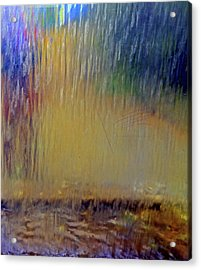 Looks Like Rain Acrylic Print
