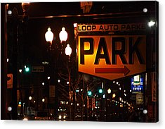 Loop Auto Park Acrylic Print by Jame Hayes
