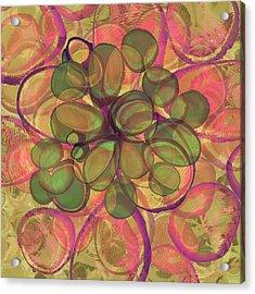 Loopy Dots #20 Acrylic Print
