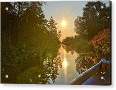 Loosdrecht Boat Trip Acrylic Print