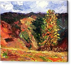 Loose Landscape Acrylic Print