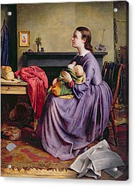 Lord - Thy Will Be Done Acrylic Print by Philip Hermogenes Calderon