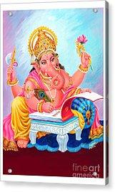 Lord Ganesh Acrylic Print by Kalpana Talpade Ranadive