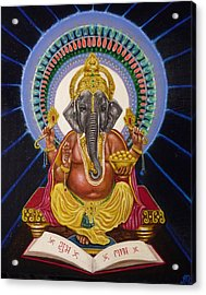 Lord Ganesha Acrylic Print