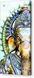 Lord Ganesha Acrylic Print by Tim Gainey