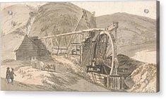 Lord Hopetoun's Lead Mines Acrylic Print by Paul Sandby