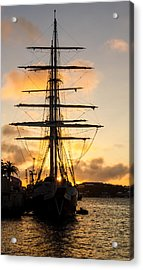 Lord Nelson Sunrise Acrylic Print by Jeff at JSJ Photography