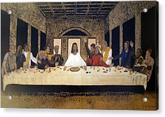 Lord Supper Acrylic Print