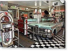 Loris Diner In San Francisco Acrylic Print