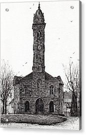 Lorne And Lowland Parish Church Acrylic Print